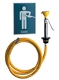 Chicago Faucets - 9302-NF - EYE-FACE-Body Spray Unit