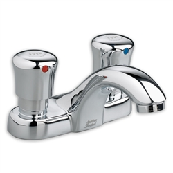 "American Standard 1340.227 - Metering 4"" Centerset Faucet, 0.5 gpm"