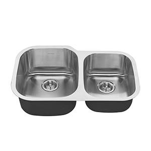 1ba0e3fa64 ... Offset Double Bowl Kitchen Sink (Stainless · Larger Photo ...