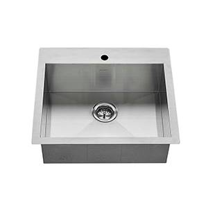 25x22 kitchen sink stainless steel larger photo