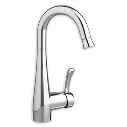 American Standard 4433.410 - Quince 1-Handle Pull-Down High-Arc Bar Sink Faucet