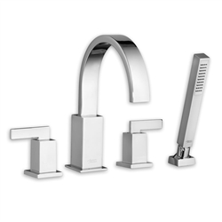 American Standard 7184.901 - Times Square Deck- Mount Tub Filler w/ Personal Shower