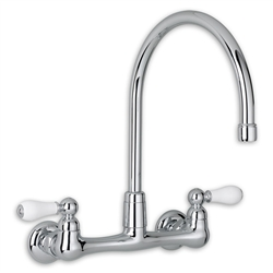 American Standard 7293.252 - Heritage 2-Handle High-Arc Wall-Mount Kitchen Faucet