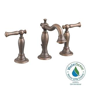 "American Standard 7440.851.224 Quentin 2-Handle 8"" Widespread Bathroom Faucet (Oil Rubbed Bronze)"