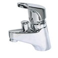 Belvedere 528 - Single Hole Deck Mount Faucet with Diverter Valve for Hose Spray.Thsi faucet is designed for shampoo bowls and salon sinks.