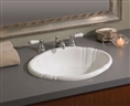 Cheviot 1514W - OVAL FLUTED BASIN-20X15-WHITE