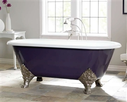 Cheviot 2161 - CARLTON Cast Iron Bath with Continuous Rolled Rim