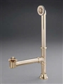 Cheviot 2222PB - WASTE & OVER FLOW-LIFT & TURN-POLISHED BRASS
