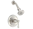 Danze D500515BNT - Eastham Single Handle Shower trim - Tumbled Bronzeushed Nickel