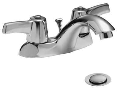 Delta 21c233 Commercial 21c Two Handle Centerset Bathroom