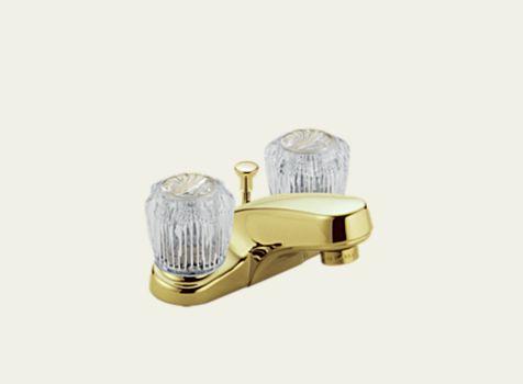 Delta Classic Two Handle Centerset Lavatory Faucet Less