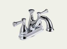 Delta Lockwood Two Handle Centerset Lavatory Faucet