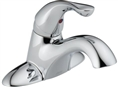 Delta 501LF-WF Classic: Single Handle Centerset Lavatory Faucet, Chrome