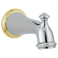 Delta RP34357CB Victorian: Tub Spout - Pull-Up Diverter, Chrome/brass