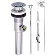 Eastman 10901 - Chrome Plated Brass Lavatory Pop-Up Drain Assembly