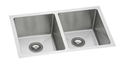 Elkay   EFRU3118   Avado Double Bowl Undermount Sink, 2 Bowls, Stainless  Steel