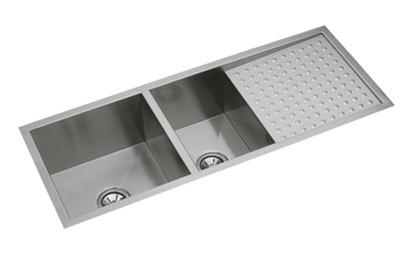 Elkay Efu471810db Avado Double Bowl Undermount Sink With Drain Board