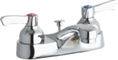 Elkay LK403L2 - 4-inch Center Deck Mount Lavatory Faucet with Pop-Up Drain Assembly