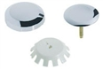 Geberit - 151.552.21.1 - Trim Kit - Molded Plastic Euro TurnControl