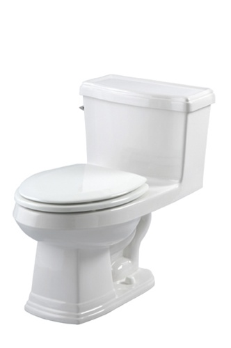 Gerber 21 010 Allerton One Piece Toilet