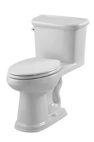 Gerber 21 011 Brianne One Piece Elongated Toilet