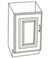 Gerber - SINGLE DOOR CAMEO VANITY CABINET 19-inch X17-inch WHITE
