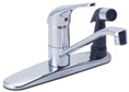 Gerber 40-111 Maxwell 1H Kitchen Faucet w/ Spray on Deck 2.2gpm Chrome