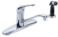 Gerber - 0040-112 - Maxwell Single Handle Kitchen Faucet with Spray - 6 or 8-Inch Centers