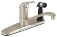 Gerber 40-121-SS Maxwell® Single Handle Kitchen Faucet, Stainless Steel Finish