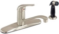 Gerber 40-122-SS Maxwell Single Handle Kitchen Faucet (Stainless Steel)