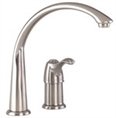 Gerber 40-160-SS Allerton Single Handle Kitchen Faucet, Stainless Steel Finish