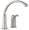 Gerber 40-161-SS Allerton 1H Hi-Arc Kitchen Faucet w/out Spray 2.2gpm Stainless Steel
