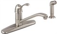 Gerber 40-451-SS Allerton Kitchen Faucet Single Handle (Stainless Steel)