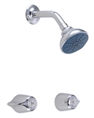 Gerber 48-221-83 Gerber Classics Two Handle Sliding Sleeve Threaded Escutcheon Shower Only Fitting with Sweat Connections 2.0gpm Chrome