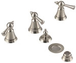 Gerber - BIDET FITTING TRIM KIT - BRUSHED NICKEL