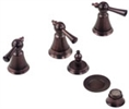 Gerber - BIDET FITTING TRIM KIT - OIL RUBBED BRONZE