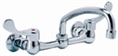 Gerber C0-44-633 Commercial 2 Handle Wall Mount Kitchen Faucet