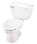 Gerber EF-21-314 Ultra Flush 1.1 gpf Elongated Two-Piece Toilet - 14-inch Rough-In