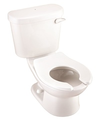 Gerber HE2060197 PeeWee Children's 1.28gpf Gravity Toilet (Tank & Bowl) Right Hand Lever White