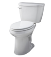 Gerber HE-21-518 - Viper™ 1.28 gpf (4.8 Lpf) Elongated, ErgoHeight™ 2 piece Toilet, 12-inch Rough-In