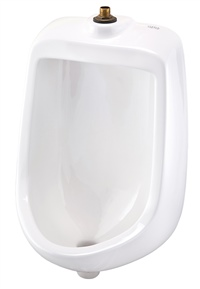 Gerber HE-27-720 North Point 0.5gpf Urinal Washout Top Spud Space Saver White