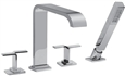 Graff - G-2352-C9-PC - Immersion Series Roman Tub Faucet