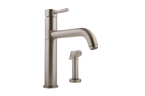 Graff G-4605-LM3-SN Perfeque Kitchen Faucet with Spray Steelnox