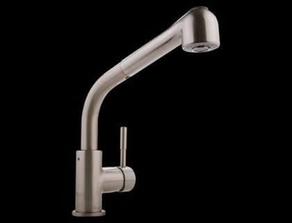 Graff G-4620-LM3-PC Perfeque Single Lever Kitchen Faucet with Pullout Spray  Polished Chrome (Compliant LL)