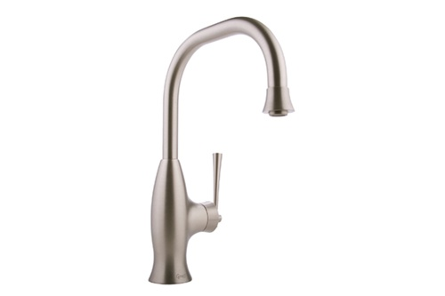 Graff G-4830-BN Bollero Kitchen Faucet with Pulldown Spray Brushed Nickel  (Compliant LL)