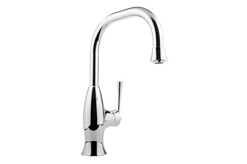 Graff G-4830-PC Bollero Kitchen Faucet with Pulldown Spray Polished Chrome  (Compliant LL)