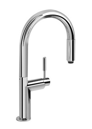 Graff G-4850-PC Oscar Kitchen Faucet with Pulldown Spray Polished Chrome  (Compliant LL)
