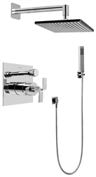 Graff G-7295 - Contemporary Pressure Balancing Shower Set w/Handshower (Rough & Trim)