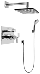 Graff G-7296 - Contemporary Pressure Balancing Shower Set w/Handshower (Rough & Trim)
