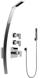 Graff GF2.020A - Luna Thermostatic Shower Set w/Handshower (Rough & Trim)